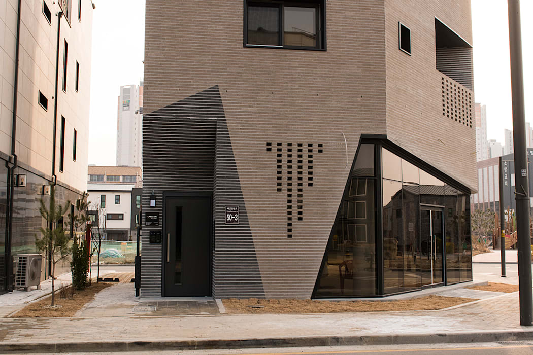 de AAG architecten Moderno Ladrillos