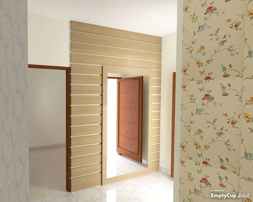 Коридор, прихожая и лестница в модерн стиле от SSDecor Модерн Изделия из древесины Прозрачный
