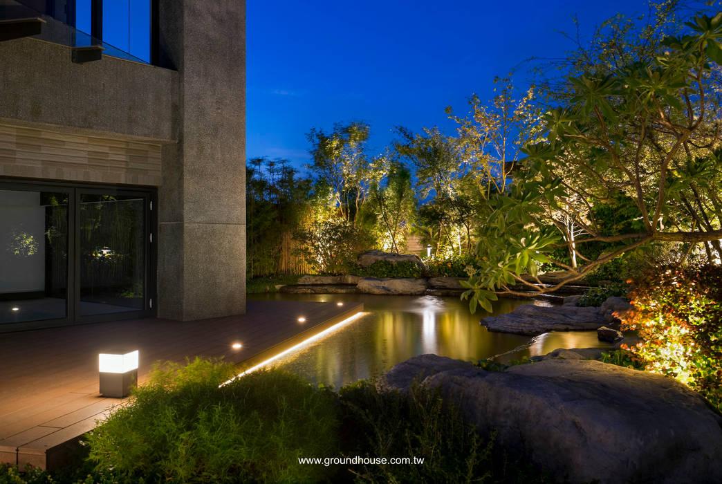 夜景04 توسط 大地工房景觀公司 آسیایی