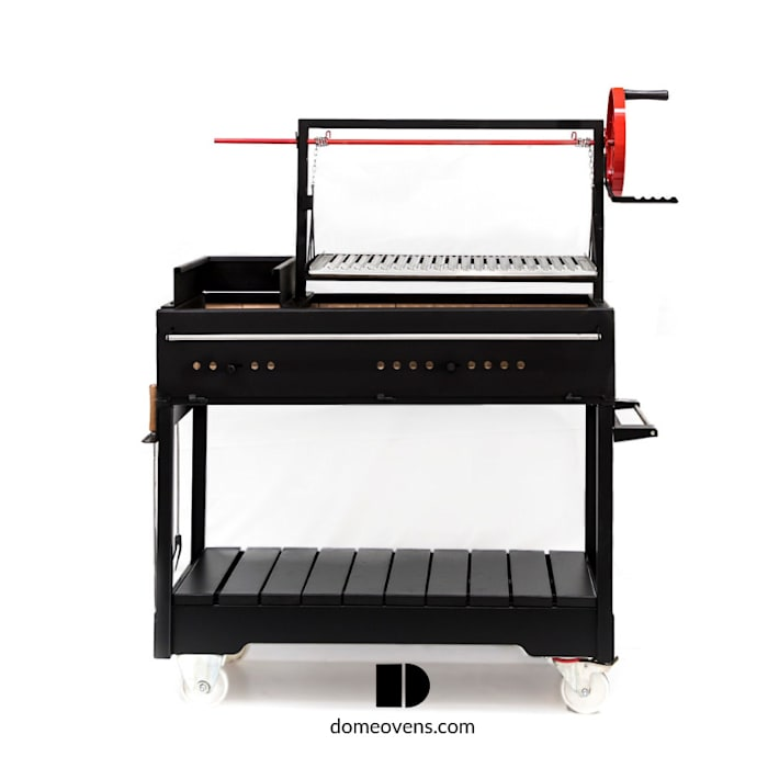 Argentine Grill - Free standing:  Patios & Decks by Dome Ovens™