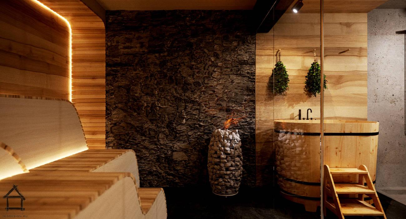 Sauna in stile  di TES_tudio