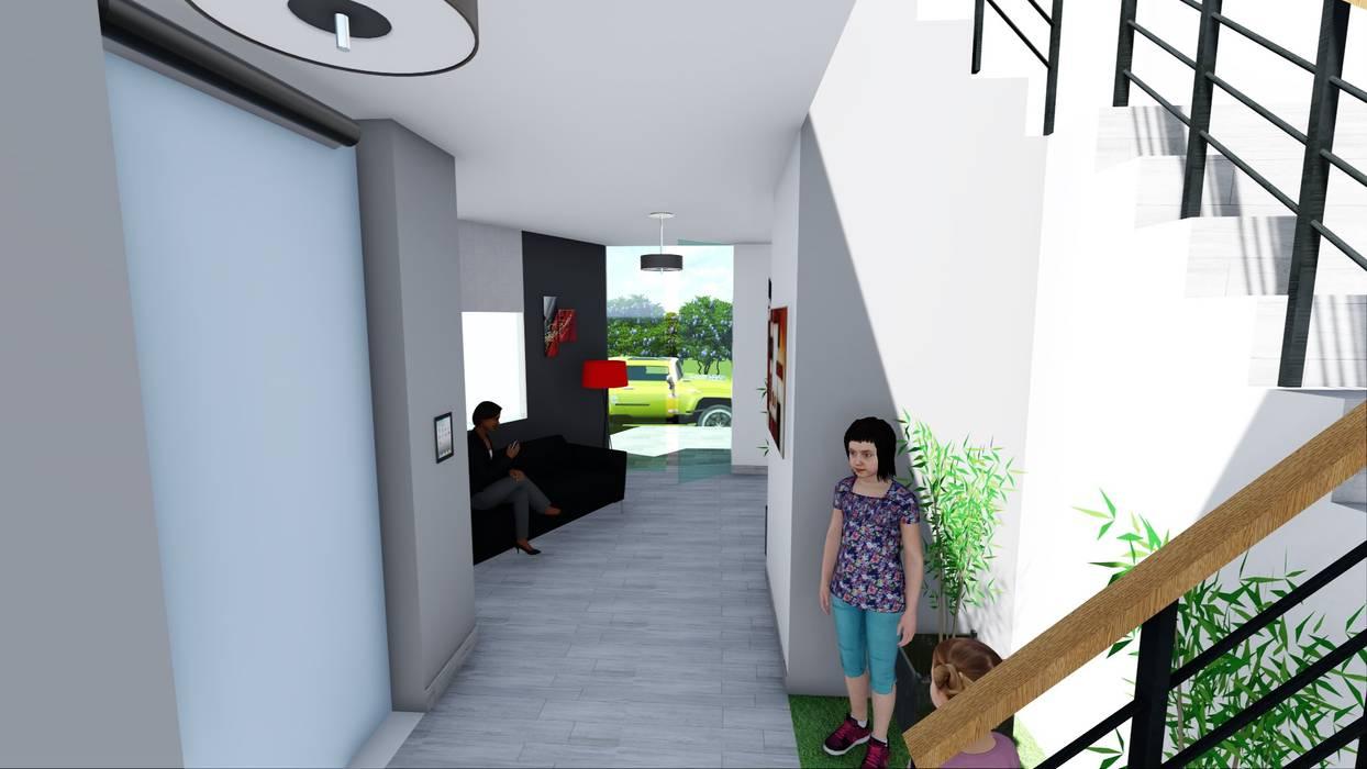 DEPARTAMENTOS EN VENTA: Casas multifamiliares de estilo  por Inter Designer, Minimalista
