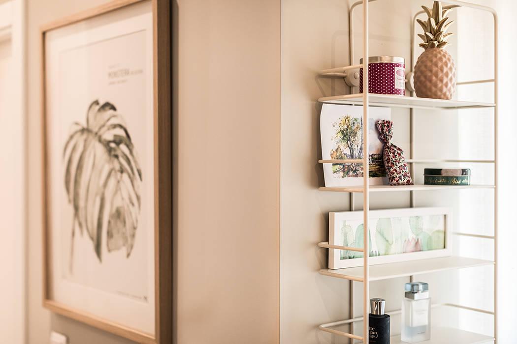 Quarto - Moradia em Viseu - SHI Studio Interior Design: Quartos pequenos  por SHI Studio, Sheila Moura Azevedo Interior Design