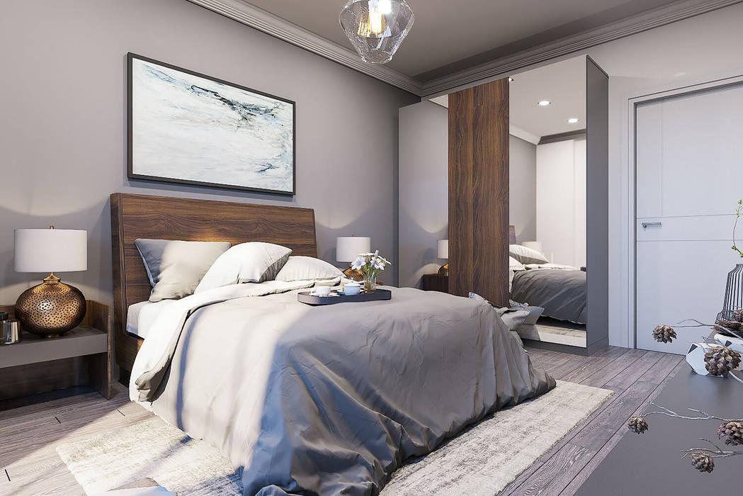 Mobilya seçimi Modern Yatak Odası ANTE MİMARLIK Modern