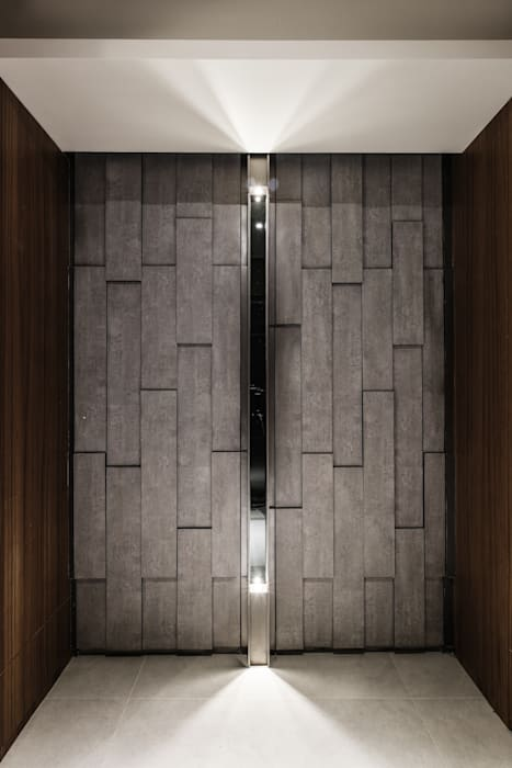 Asian style doors by 竹村空間 Zhucun Design Asian