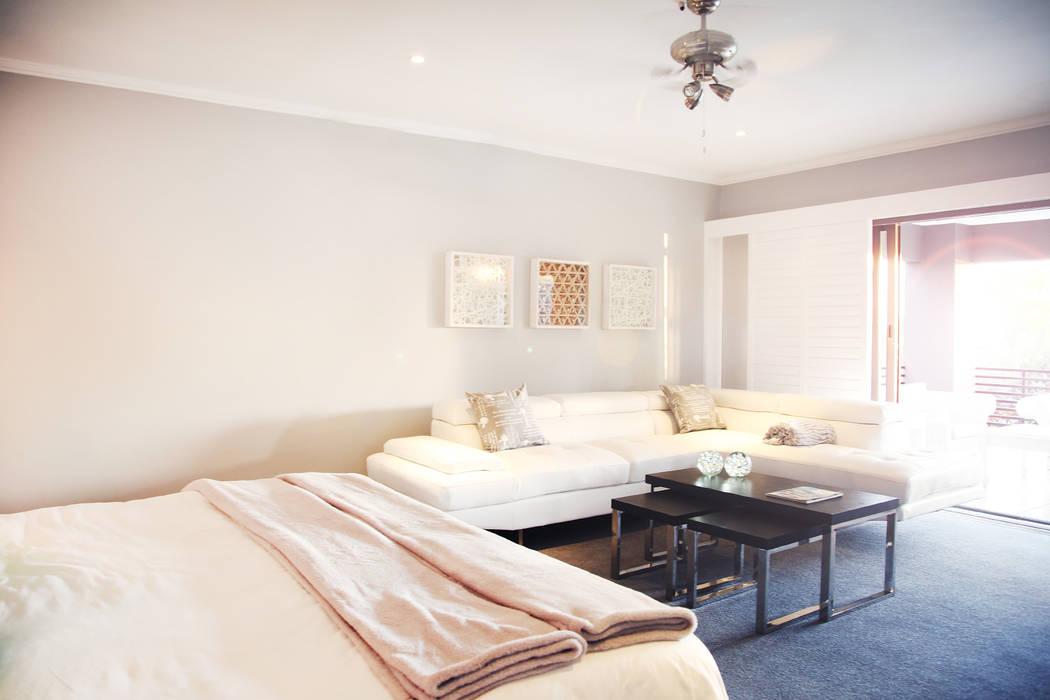 Vaal River:  Bedroom by Plan Créatif,