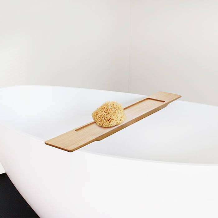 Badeloft - Badewannen und Waschbecken aus Mineralguss und Marmor Ванна кімнатаПолиці Дерево