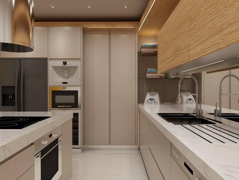 Projecto Cozinha - Vila Verde, Braga: Cozinhas embutidas  por Angelourenzzo - Interior Design