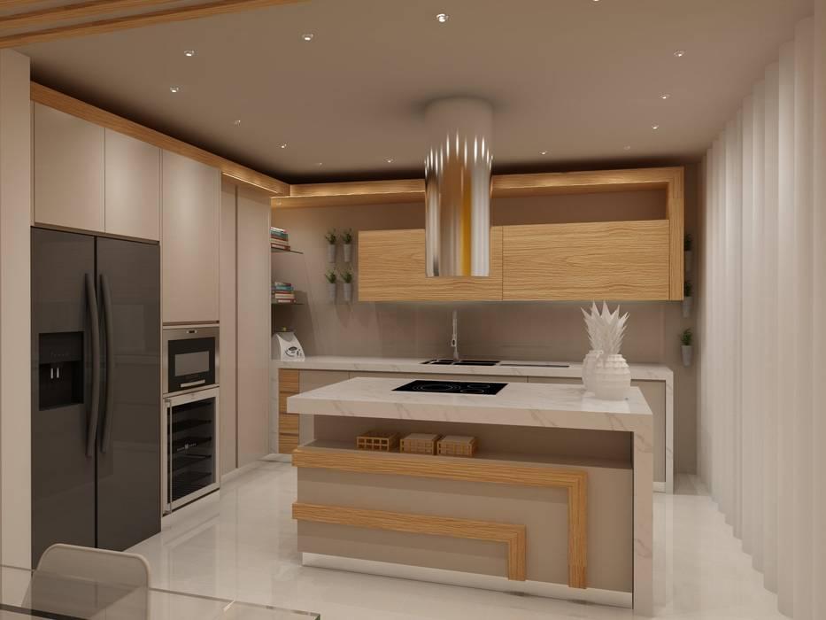 Projecto Cozinha - Vila Verde, Braga por Angelourenzzo - Interior Design Moderno