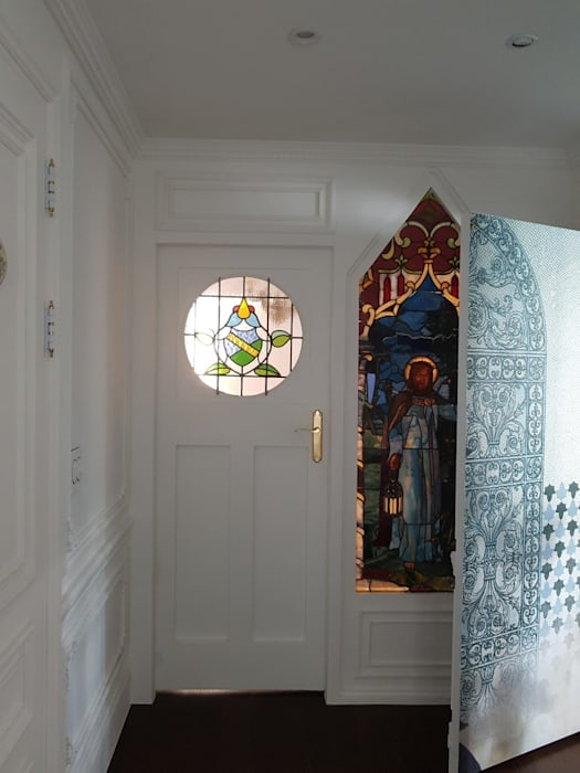 Scandinavian style doors by 주식회사 큰깃 Scandinavian