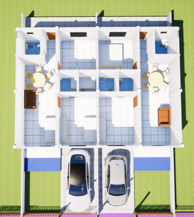 แปลนอาคารพาณิชย์ โดย รับเขียนแบบบ้าน&ออกแบบบ้าน คลาสสิค