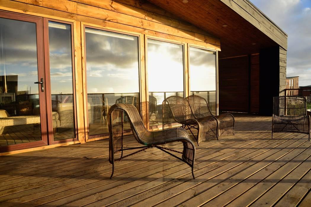 木屋 by Kimche Arquitectos , 現代風 石器