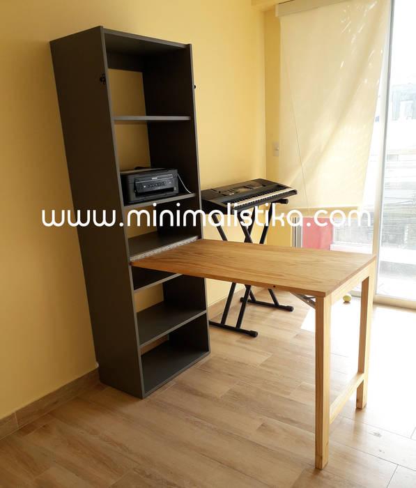 Minimalistika.com StudioScrivanie Legno massello Effetto legno