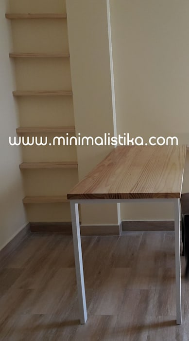 Mobiliario Minimalista Sala Comedor de Minimalistika.com Minimalista Madera maciza Multicolor