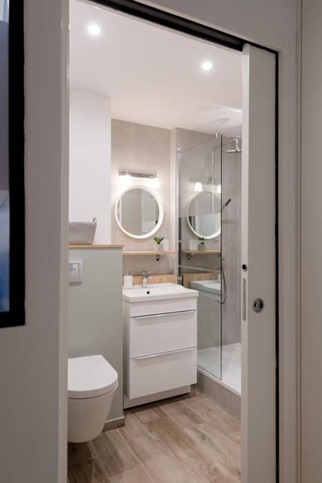 Chez sophie et philippe salle de bain moderne par camille ...