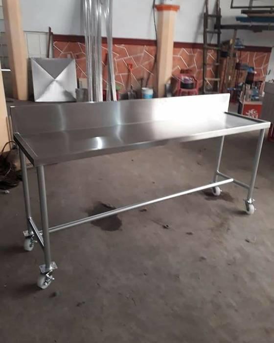 Muebles cocina industrial gastronomía de estilo industrial ...