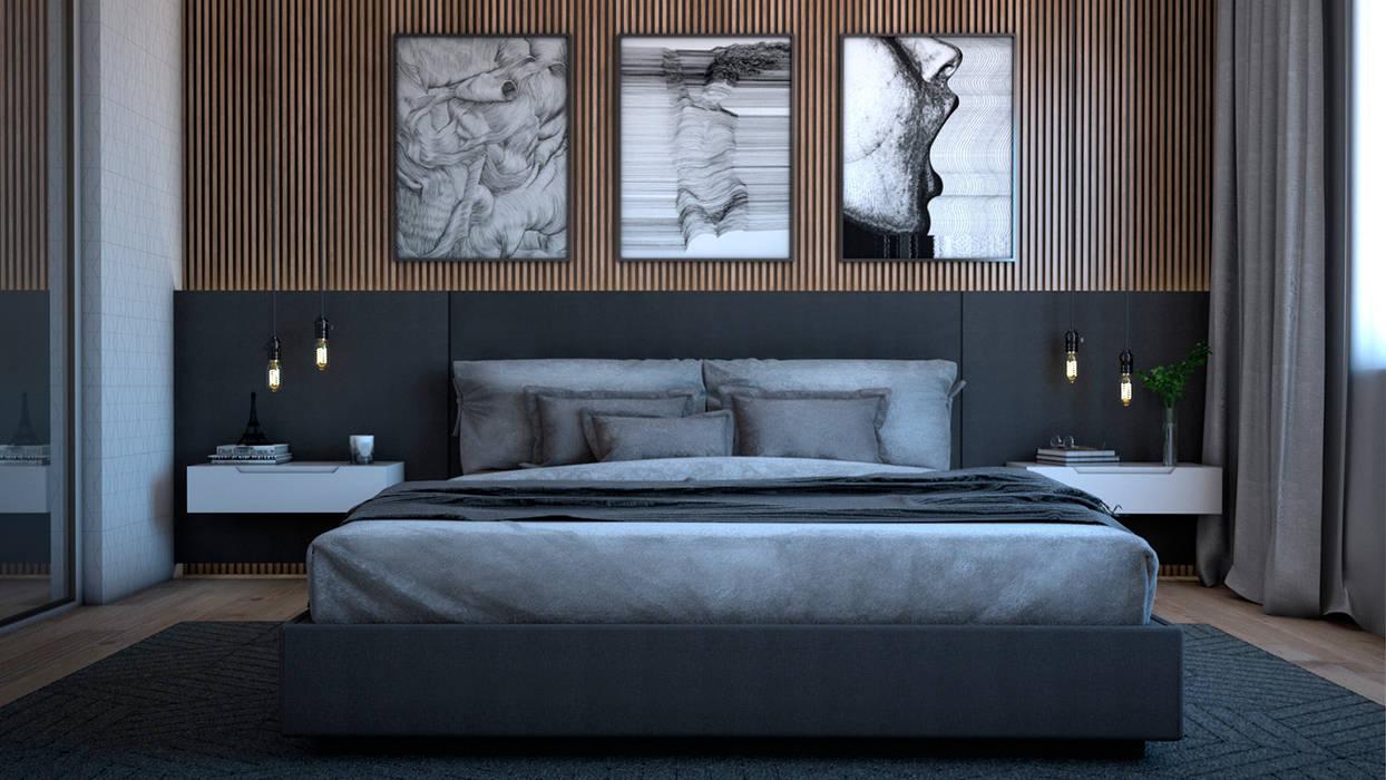 Mediterranean style bedroom by Estúdio 2 : 1 Mediterranean