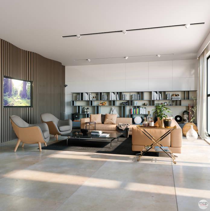 mcp-render Livings de estilo moderno