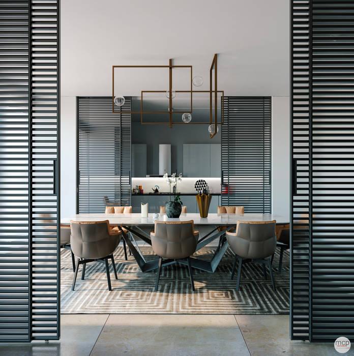 Modern dining room by mcp-render Modern