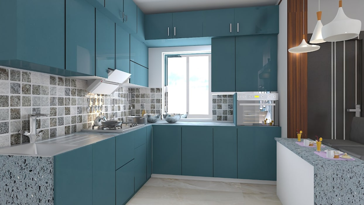 Residential Work :  Kitchen by JC INNOVATES,