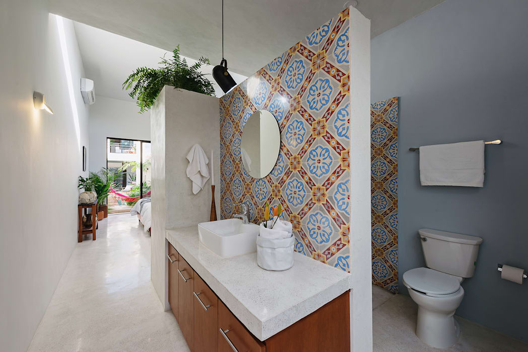 浴室 by Workshop, diseño y construcción,