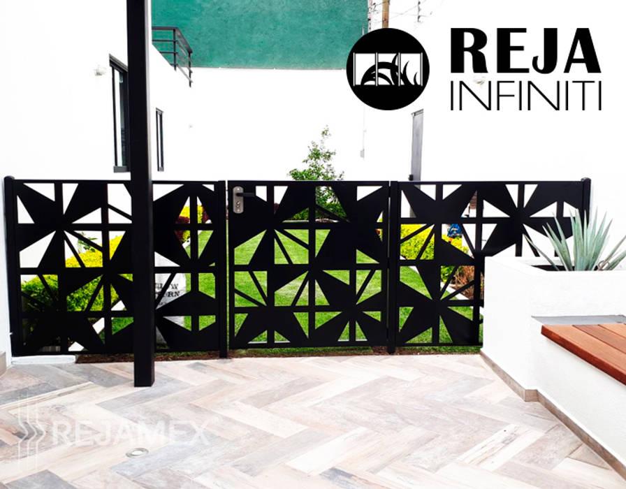 Reja INFINITI RMXABSTRA063-001: Casitas de jardín de estilo  por Rejamex