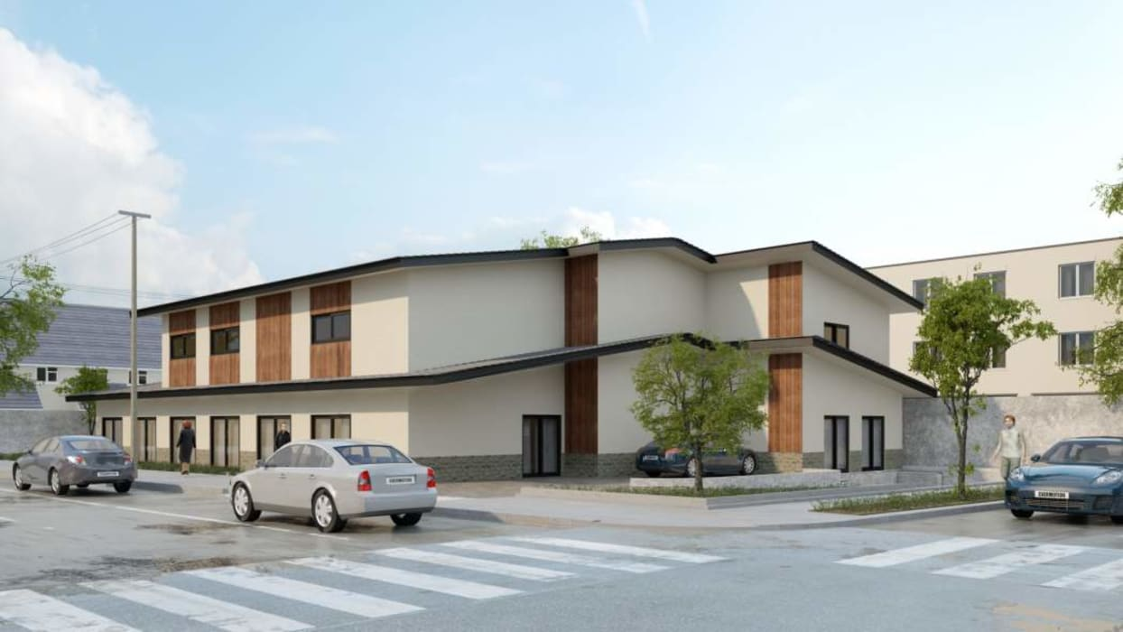 New 3 story congregate living health facility building - Structural engineering by S3DA Design Classic