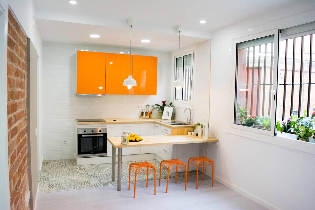Kitchen by Escarra arquitectos y asociados SAS