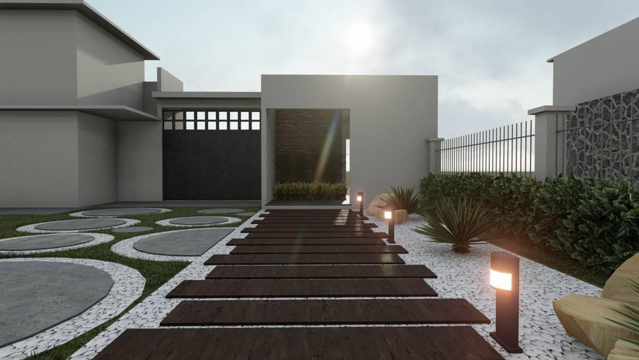 Rock Garden by DISARQ ARQUITECTOS., Modern