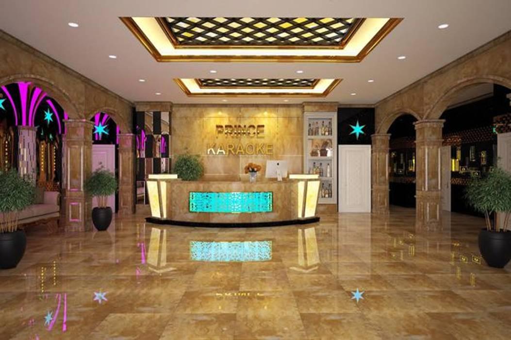 3. Dùng tấm ốp pvc vân đá cho quán karaoke:  Quán bar & club by Công ty TNHH truyền thông nối việt
