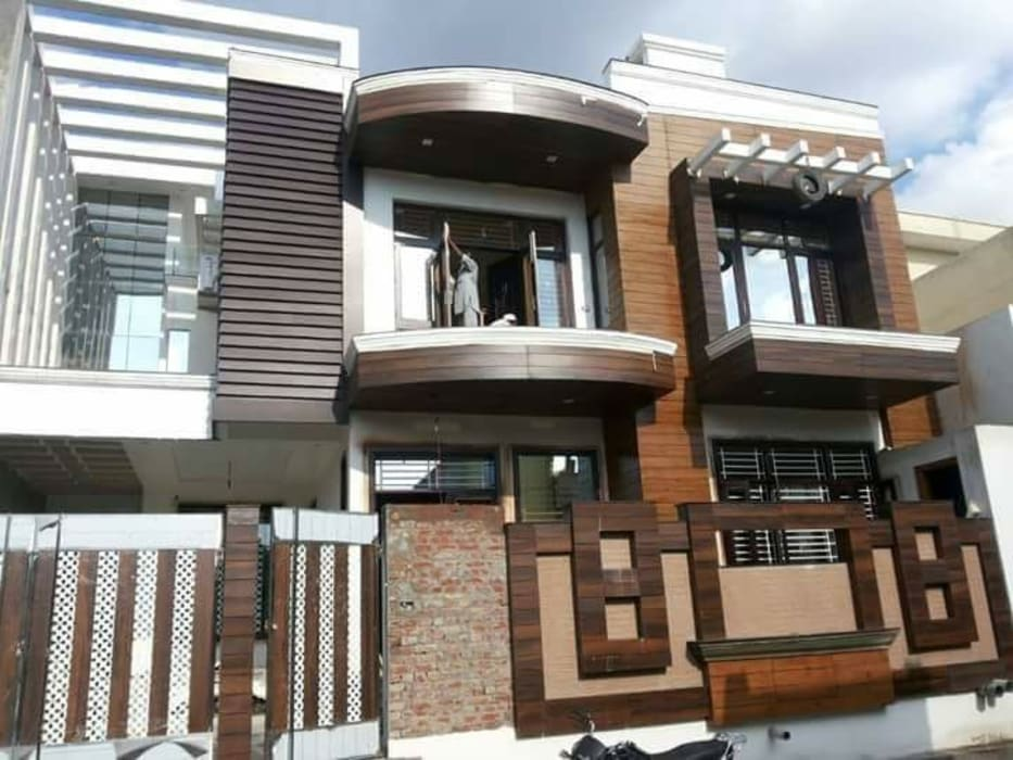 HPL Fabrication Work :  Bungalows by 360 Home Interior,Modern