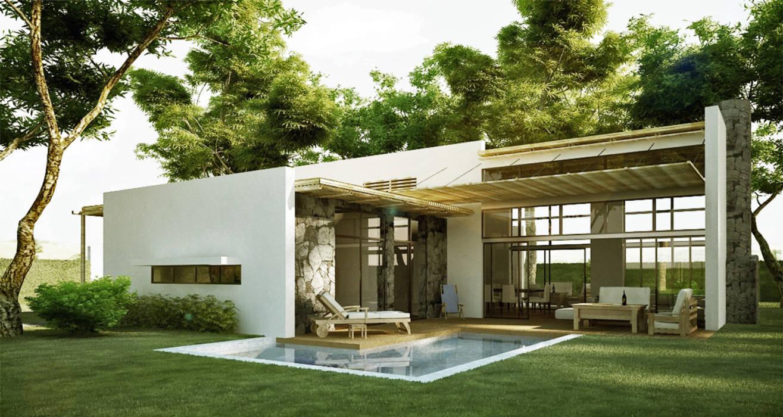 &nbsp Casas de estilo rústico de INSPIRA ARQUITECTOS Rústico