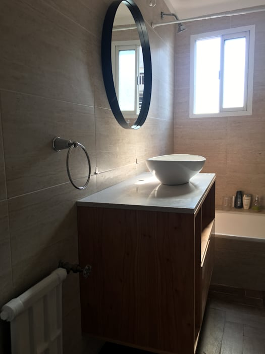 Bathroom by Estudio Qpi , Modern Ceramic