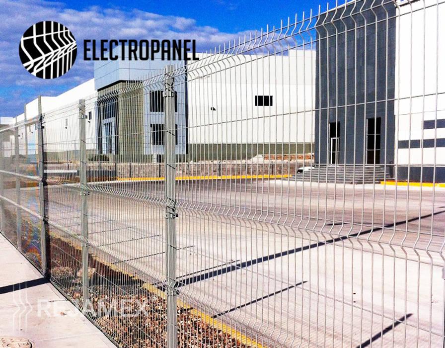 Rejamex Minimalist office buildings Metal Grey