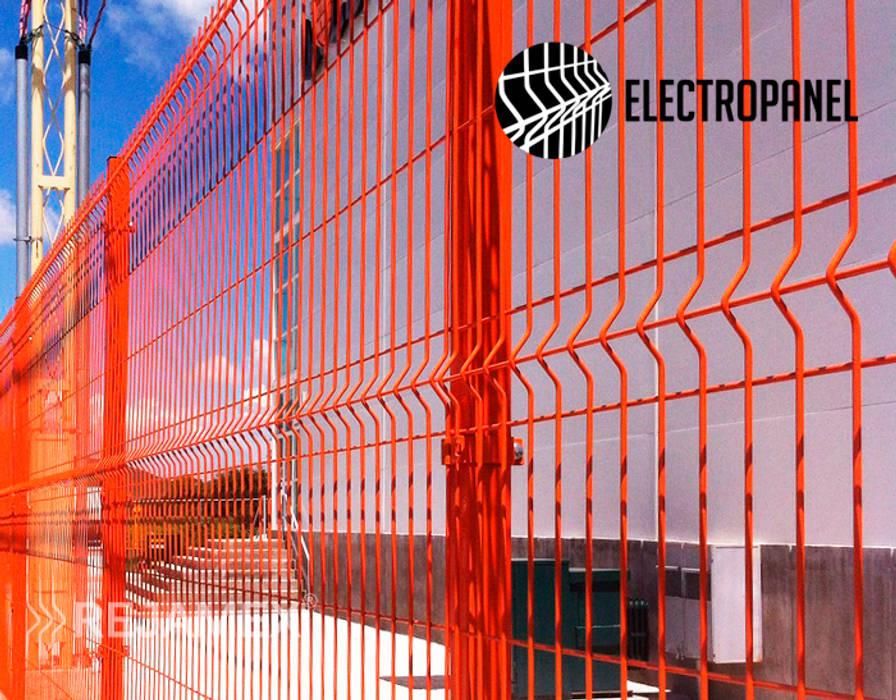 Rejamex Centres commerciaux minimalistes Métal Orange