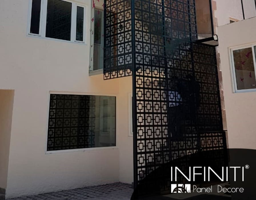 by Infiniti Panel Decore Minimalist Metal