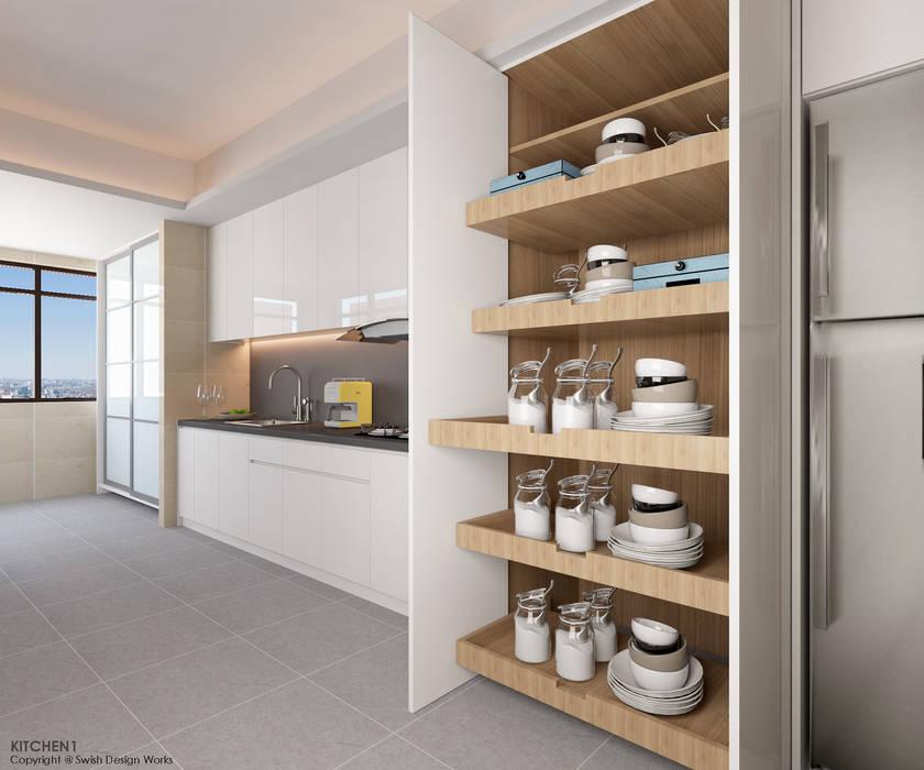 Einbauküche von Swish Design Works,