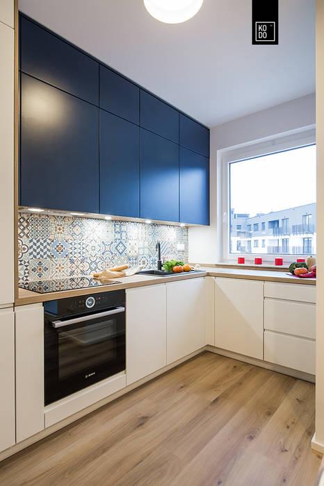 WNĘTRZE Z PASJĄ: styl , w kategorii Kuchnia zaprojektowany przez KODO projekty i realizacje wnętrz,