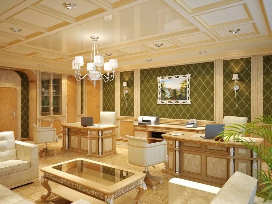 Office buildings by Студия дизайна интерьера 'ЭЛЬ ХОСЕ', Classic