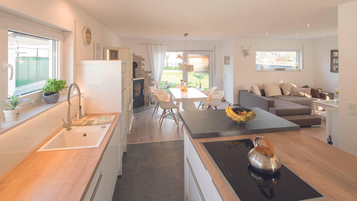 Alles in einem: küche von fingerhaus gmbh - bauunternehmen ...