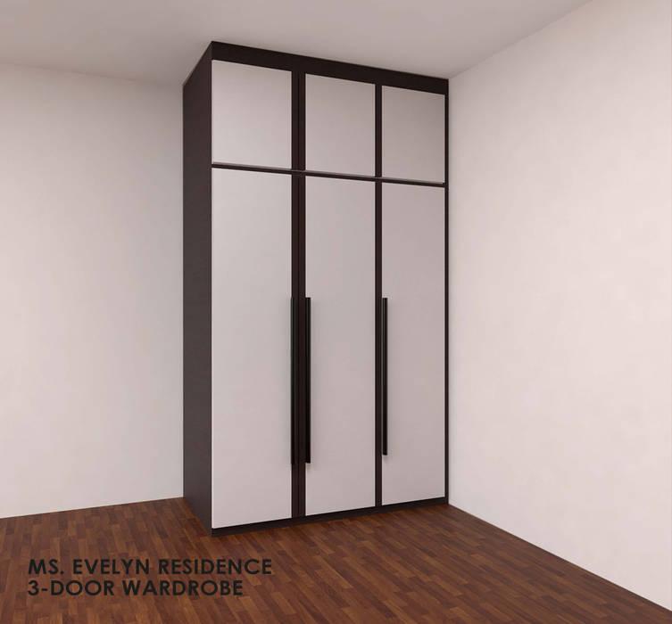 Swish Design Works ห้องนอนWardrobes & closets