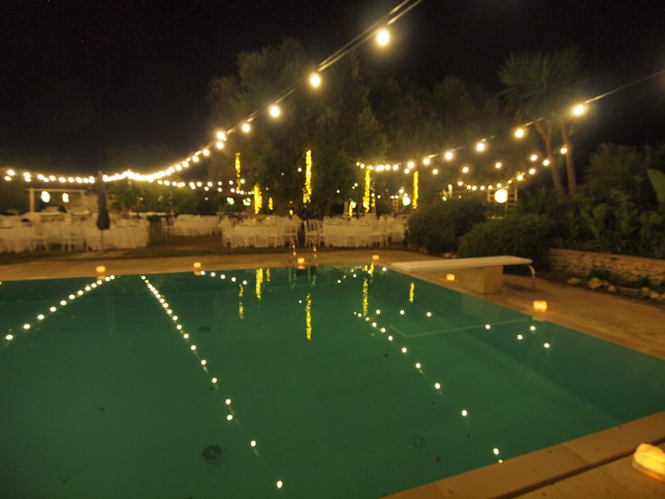 Fratelli Parisiが手掛けた庭池, 地中海
