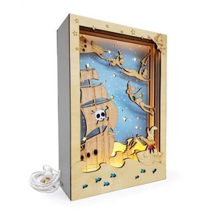 de Minihaus Kids Moderno Madera Acabado en madera
