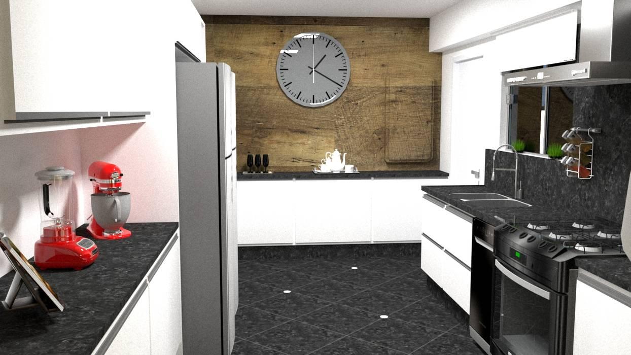 Cozinha por Silvana Lima e UrbanaDI Moderno