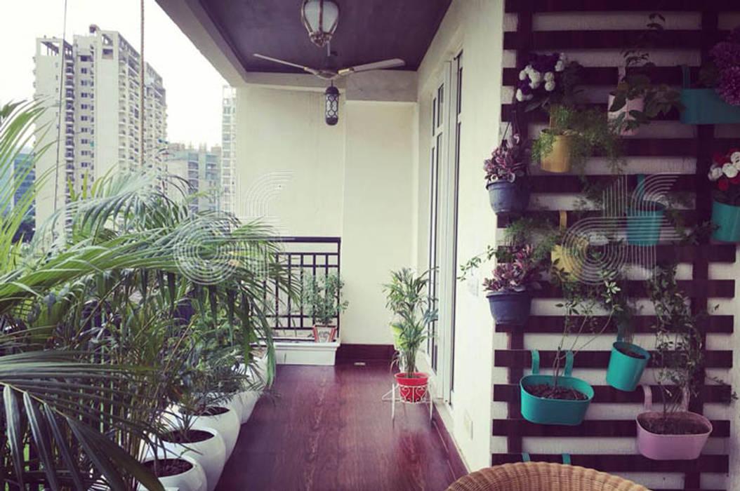 Balcón de estilo  por design foundation, Moderno