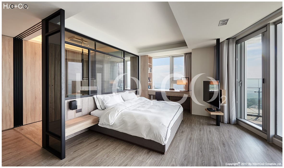 次主臥室 光合作用設計有限公司 小臥室