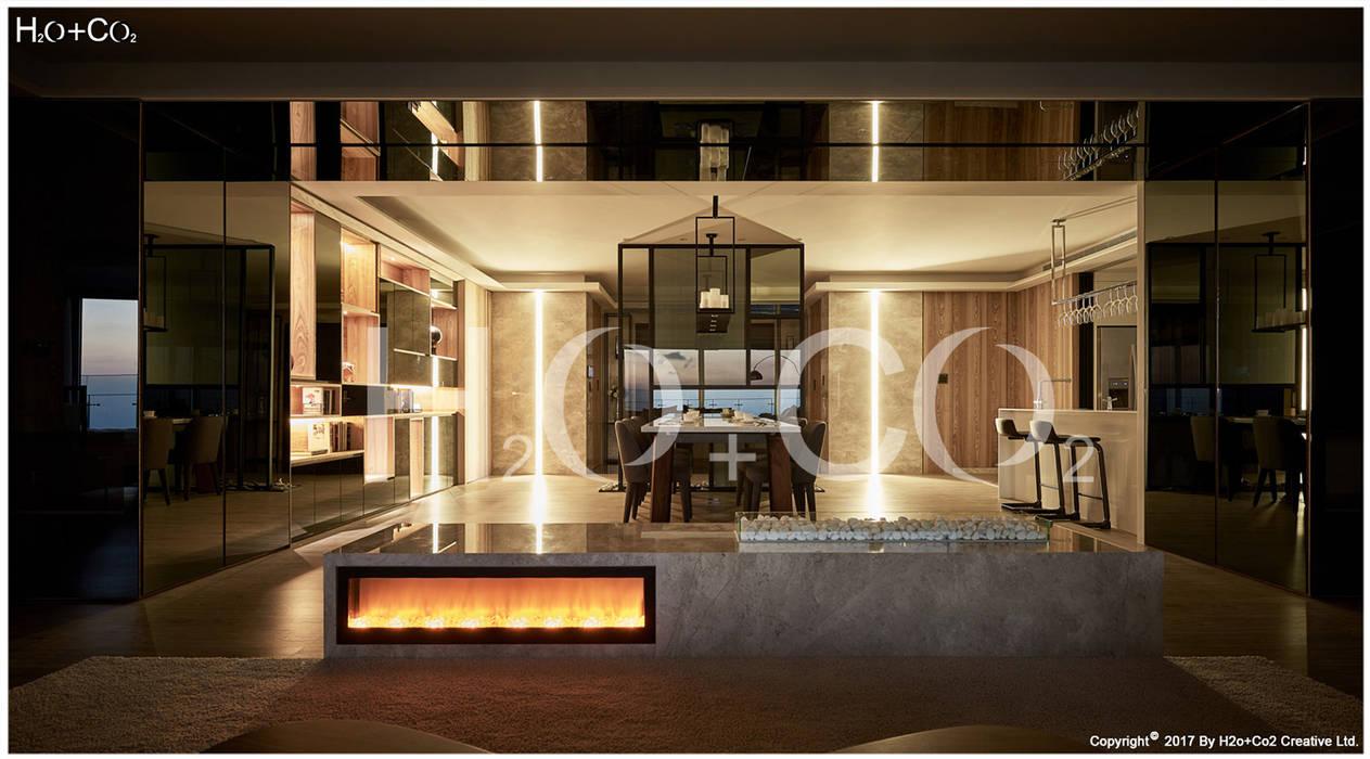 液晶觀火爐 光合作用設計有限公司 小臥室