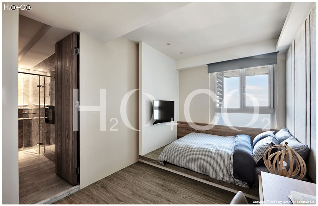 客用臥室 光合作用設計有限公司 小臥室