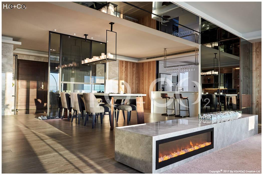 客廳 光合作用設計有限公司 餐廳