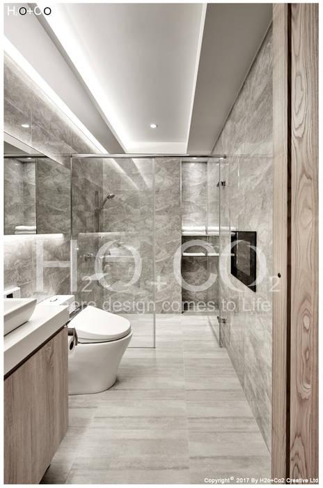 客用衛浴 光合作用設計有限公司 現代浴室設計點子、靈感&圖片